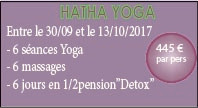 Sainte Marie Lodge offre Yoga